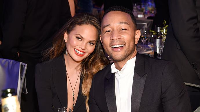Chrissy Teigen John Legend SAG Awards