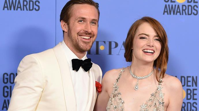 Ryan Gosling and Emma Stone.