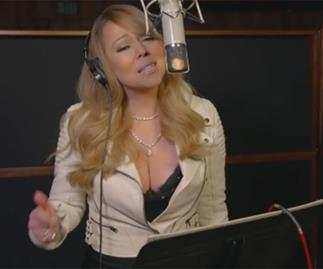 Mariah Carey on Mariah's World