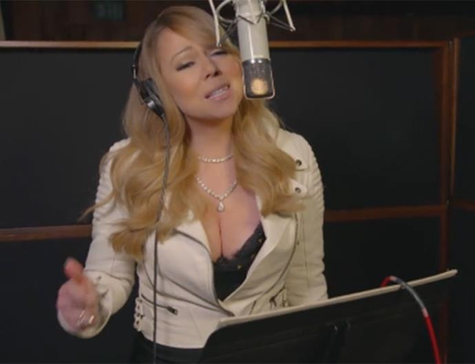 Mariah Carey on Mariah's World