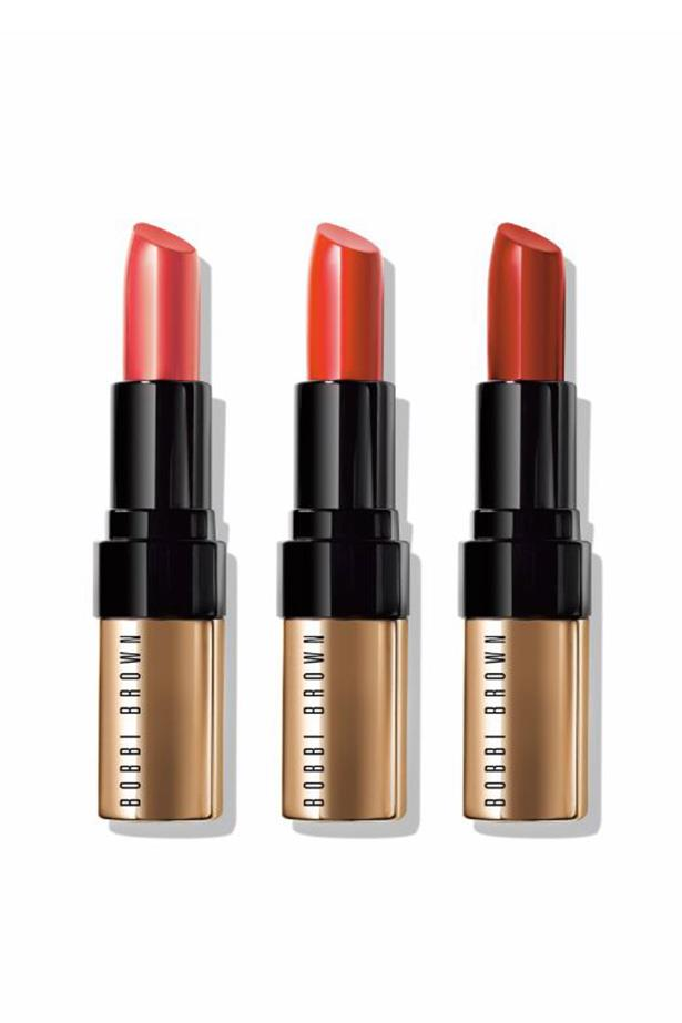 "Bobbi Brown Red Hot Luxe Lip Color Collection (Including 8 shades), $52, at <a href=""bobbibrown.com.au"">Bobbi Brown</a>"