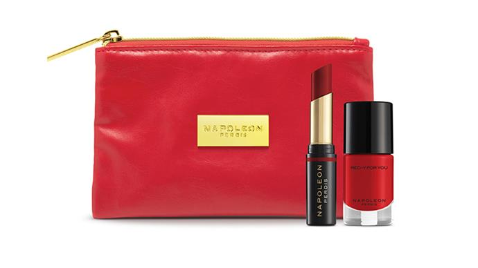 "Napoleon Perdis 'Makeup Not Tears' Pack, $45, at <a href=""http://http://shop.davidjones.com.au/djs/en/davidjones/napoleonperdis-lips/makeup-not-tears-pack"">David Jones </a>"