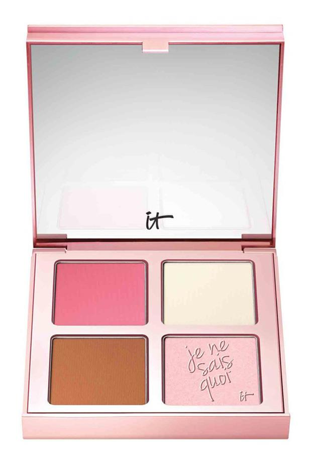 "IT Cosmetics Je Ne Sais Quoi Complexion Perfection Face Palette, $62, at <a href=""http://http://www.sephora.com.au/products/it-cosmetics-je-ne-sais-quoi-complexion-perfection-face-palette"">Sephora</a>"