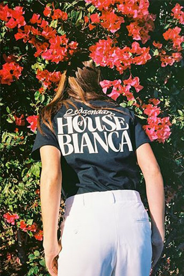 """<strong><a href=""""http://biancachandon.com/"""">Bianca Chandon</a></strong><br><br> Bianca Chandon is the brainchild of professional skater Alex Olsen, who also helms Call Me 917. The unisex range of tees and sweaters started skewed towards men (A$AP Rocky and Off-White's Virgil Abloh were both early fans), but has since been adopted by Los Angeles cool-girls and their ilk."""