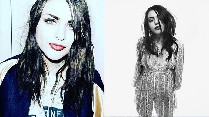 <p><strong>Frances Bean Cobain </strong> <p><strong>Celebrity parents:</strong> Kurt Cobain and Courtney Love <p>At 24-years-old, Frances Bean Cobain was signed with Marc Jacobs, becoming the face of his Spring/Summer '17 campaign.