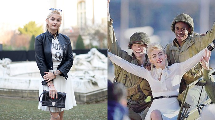 <p><strong>Paris Jackson</strong> <p><strong>Celebrity parents:</strong> Michael Jackson and Debbie Rowe. <p>The 18-year-old has made her mark in the fashion industry, starring in her first photo shoot in Paris. The King of Pop's daughter has also sat front row at Givenchy and Dior fashion shows.