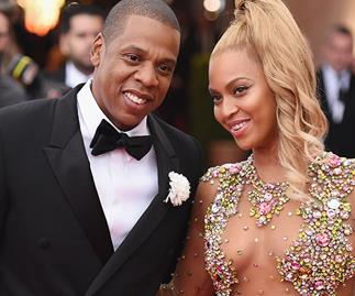 Beyonce and Jay-Z in November.