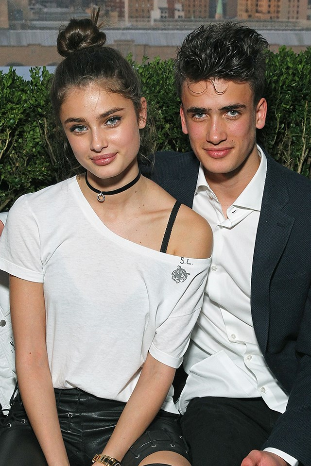 Who knew <strong>Taylor Hill's</strong> brother, <strong>Chase Hill</strong>, was such a looker?
