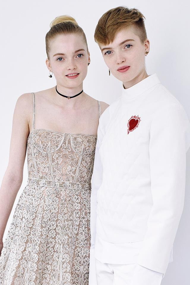 <strong>Ruth </strong>and <strong>May Bell</strong>, known for their work with Dior and Burberry, often work together and apart.