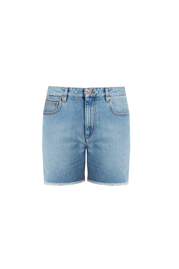 "Isabel Marant Etoile shorts, $235 at <a href=""http://www.mytheresa.com/en-au/le-cutoff-denim-shorts-598235.html?catref=category#&gid=1&pid=1"">My Theresa</a>"