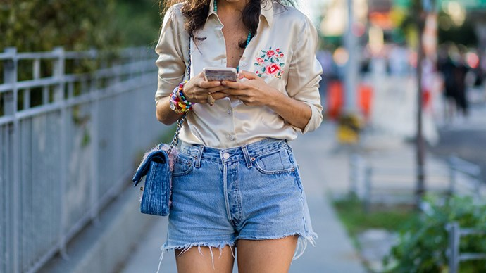 Finding denim shorts that fit without veering into Daisy Duke territory is one of summer's most challenging style problems. Lucky you! We've solved it...