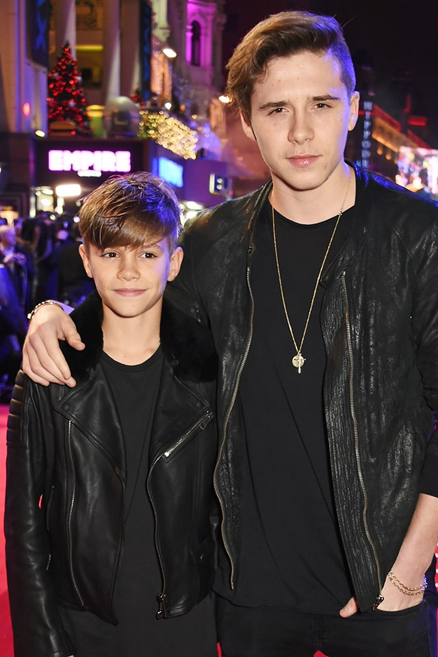 It's not secret that the Beckham's have a very handsome brood. <strong>Brooklyn Beckham</strong> has signed with a modelling agency and <strong>Romeo Beckham</strong> has modelled for Burberry. NBD.