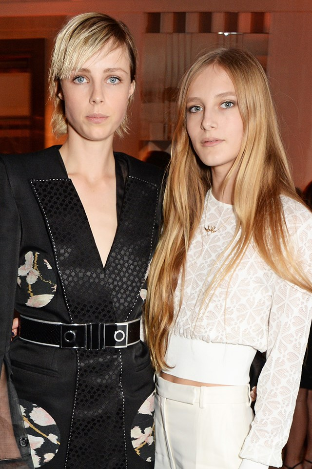 <strong>Edie Campbell</strong> and her baby sis <strong>Olympia Campbell </strong>have racked up serious clients, from Dior and Lanvin for Edie to Louis Vuitton and Chanel for Olympia.