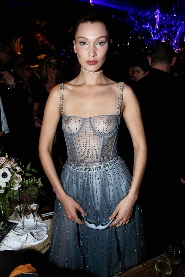 Bella Hadid in Dior.