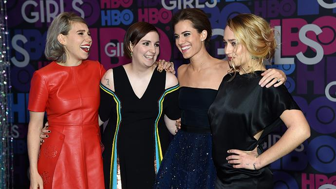'Girls' cast.