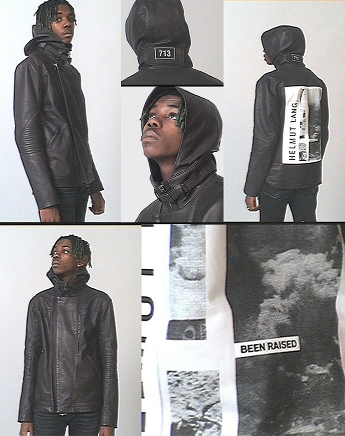"<p> Travis Scott designed a 19-piece collection for <a href=""https://www.instagram.com/helmutlang/"">Helmut Lang</a> that consisted of t-shirts, jackets and bombers."