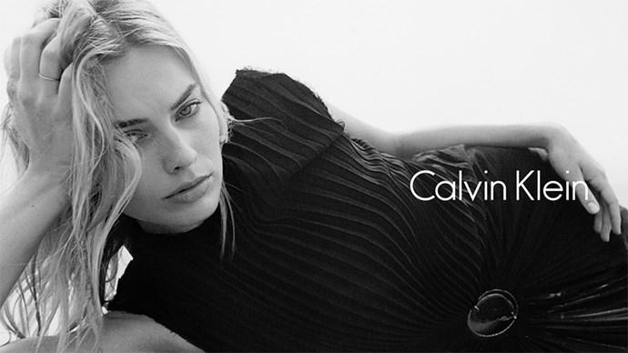 Margot Robbie for Calvin Klein.