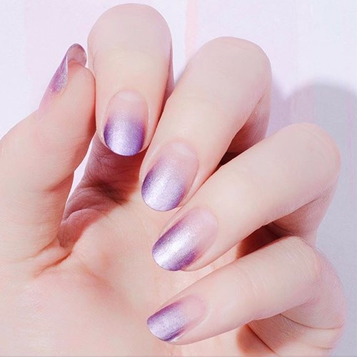 """<p><strong>Oval</strong> <p><strong>What it looks like:</strong> Rounded tip like a semi circle. <p><strong>Best length: </strong>About 3mm of free edge at the tip is ideal. <p><strong>Shade selection:</strong> """"I like this shape with pretty and feminine pastels."""""""