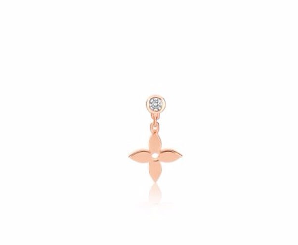 "<p>Louis Vuitton earring, $1,300 at <a href=""http://au.louisvuitton.com/eng-au/products/idylle-blossom-ear-stud-pink-gold-and-diamond-005194"">Louis Vuitton </a>"