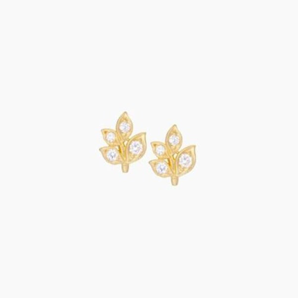 "<p>Jamie Wolf earrings, approx. $1,799 at <a href=""http://jamiewolf.com/products/leaf-stud-earrings"">Jamie Wolf</a>"