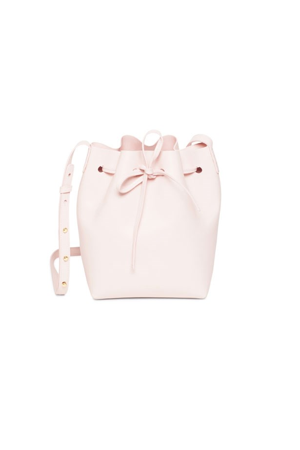 "Bucket Bag, $885, Mansur Gavriel at <a href=""https://www.mychameleon.com.au/mini-bucket-bag-calf-p-5099.html?typemf=women"">MyChameleon</a>."