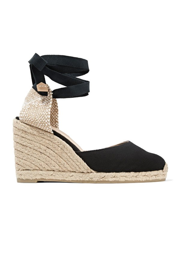 "Wedged Espadrilles, $232, Castañer at <a href=""http://rstyle.me/n/ceh6arvs36"">Net-A-Porter</a>."