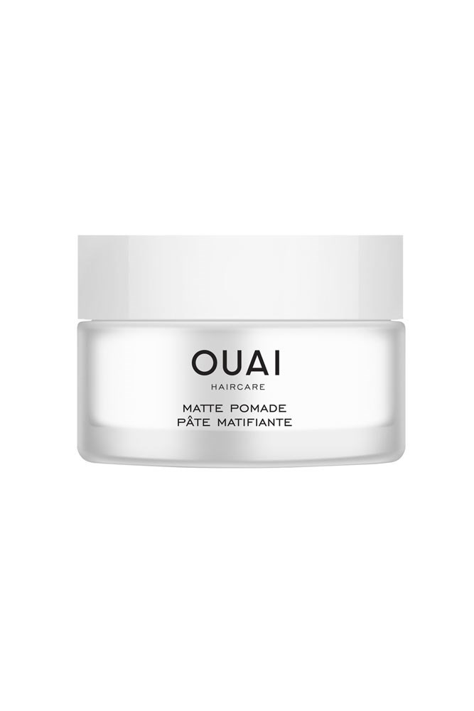 """""""I use this instead of my regular sea salt product for the same volume and texture without the inappropriately beachy feel."""" <strong>– Justine Cullen, editor-in-chief</strong><br><br> <em><a href=""""http://www.sephora.com.au/products/ouai-matte-pomade"""">Ouai Matte Pomade, $36 at Sephora</a></em>"""