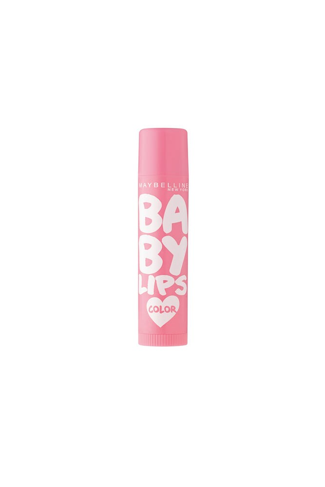 """""""My handbag essential. There's something about the sheen from the subtle colour that's particularly flattering.""""<strong> – Janna Johnson O'Toole, beauty and fitness director</strong><br><br> <em><a href=""""https://www.priceline.com.au/maybelline-baby-lips-loves-color-spf-16-4-5-g"""">Maybelline New York Baby Lips Loves Color, $3.95 at Priceline</a></em>"""