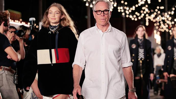 <strong>Gigi x Tommy Hilfiger takes NYFW to Los Angeles</strong><br><br> Gigi Hadid and Tommy Hilfiger have teamed up for a second design capsule (following the runaway success of the first at last season's New York fashion week). This time, they're shaking things up by heading to Los Angeles instead, as will Tom Ford.