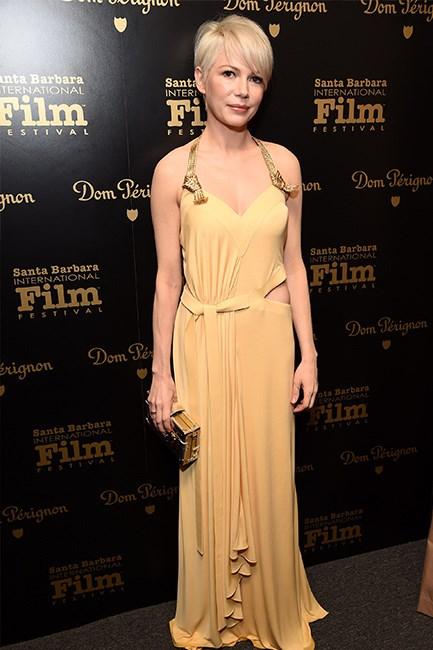 Michelle Williams at the Santa Barbara International Film Festival.