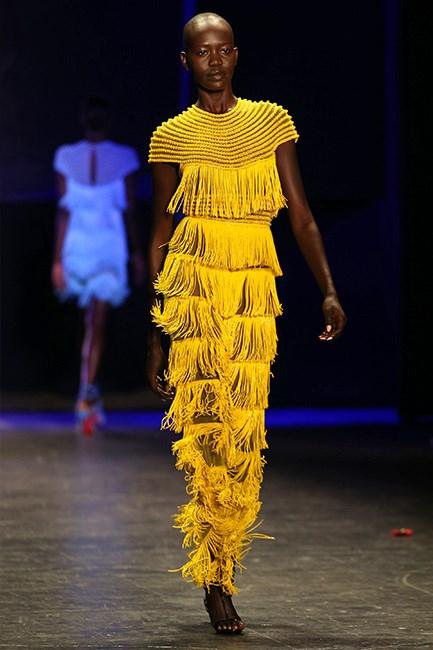 Naeem Khan 2016 Runway during New York Fashion Week.