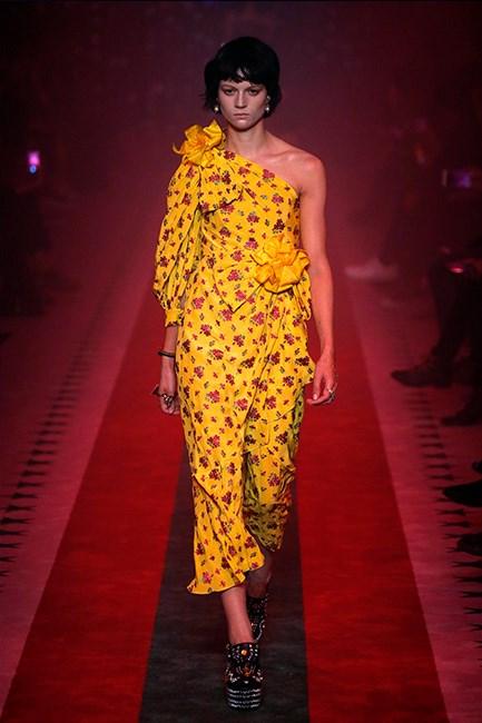Gucci Spring/Summer 2017 during Milan Fashion Week.