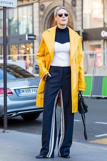 Street Style at Paris Fashion Week Spring/Summer 2017.