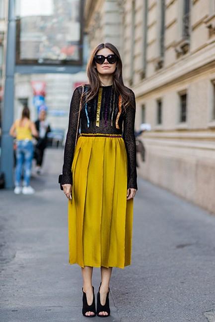 Street Style at Milan Fashion Week Spring/Summer 2017.