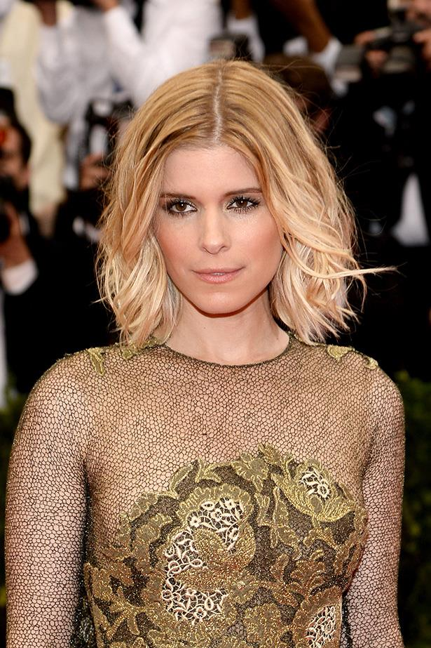 <strong>Kate Mara</strong>  <br> <br>  Only the most fashionable celebs tend to pull off this hairstyle, so naturally, Kate rules at it.