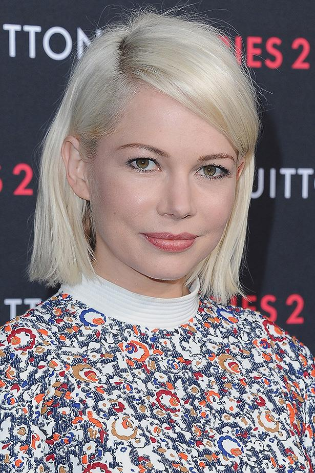 <strong>Michelle Williams</strong>  <br> <br>  Please, please, please do this crop and colour forever.