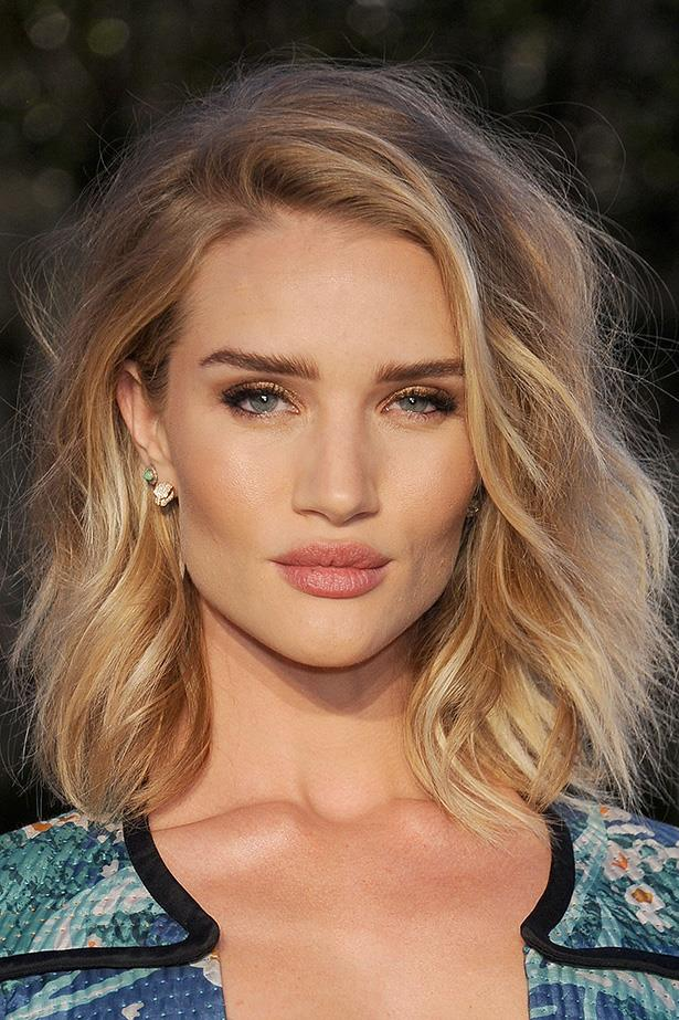 <strong>Rosie Huntington-Whiteley</strong>  <br> <br>  She's stuck to the bob for a while now and we don't want her to quit. Rosie nails the texture and balayage tone.