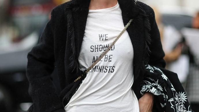Dior Feminist shirt.