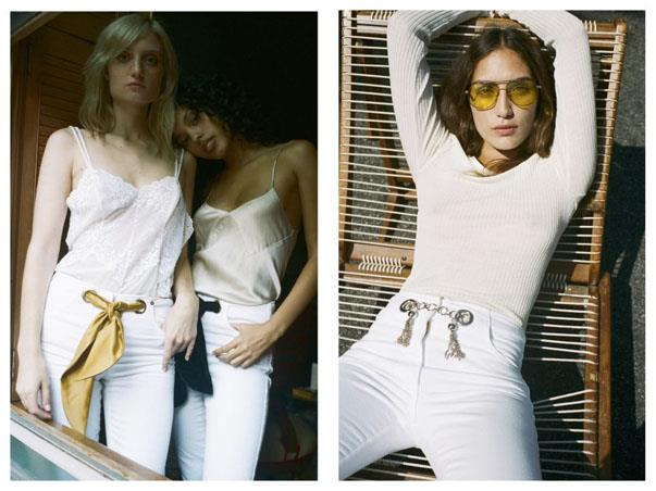 """<p><strong>Miaou</strong> <p>Alexia Elkaim is not exactly """"new."""" Her dad is industry titan Serge Azria. Her friends are models and celebrity daughters. Her latest internship was for Carine Roitfeld. And yet, Elkaim's certainly a newbie at NYFW, where her denim line Miaou—already stocked at Opening Ceremony—hits the city with its very own pop-up shop in downtown New York. Like Elkaim's well-curated Insta squad, the stuff should be super cute."""