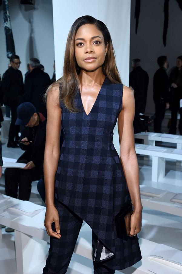 <p><strong>Calvin Klein</strong> <BR><BR> Naomie Harris