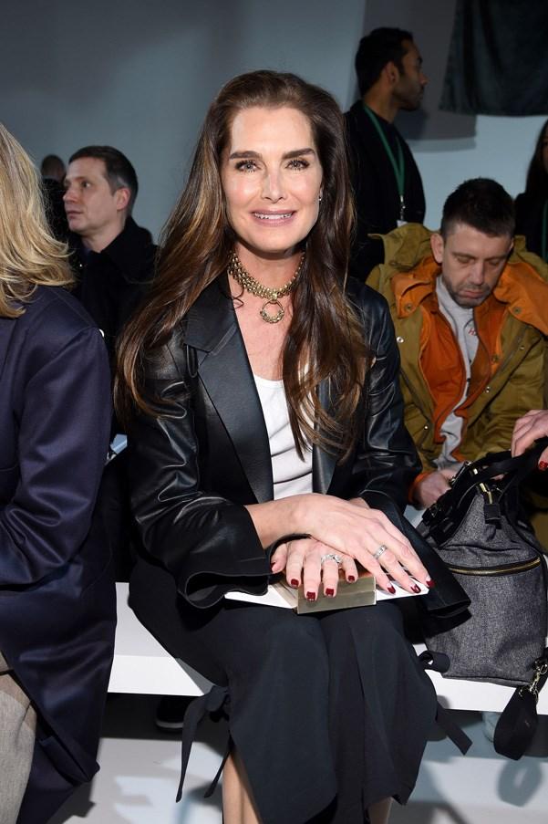 <p><strong>Calvin Klein</strong> <BR><BR> Brooke Shields