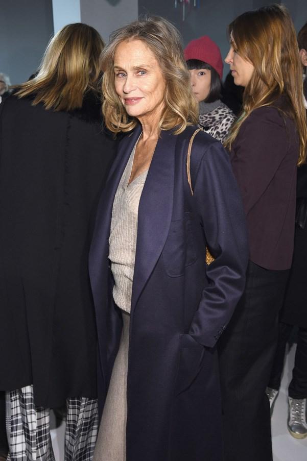 <p><strong>Calvin Klein</strong> <BR><BR> Lauren Hutton