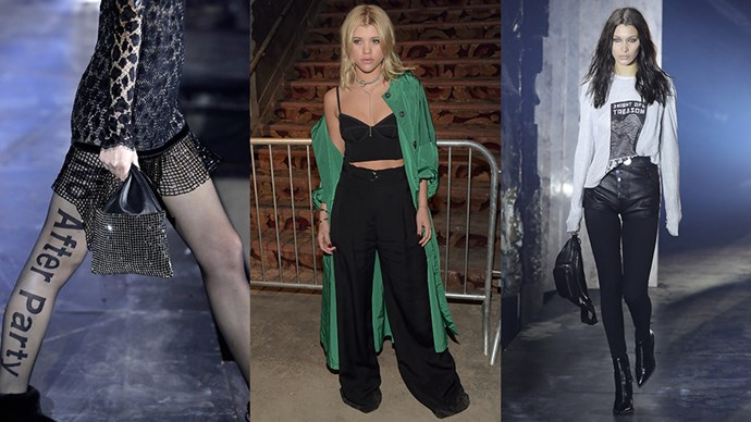 <p>Here, everything you need to see from Alexander Wang's New York fashion week show.