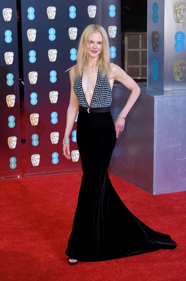 Nicole Kidman in Armani Privé.