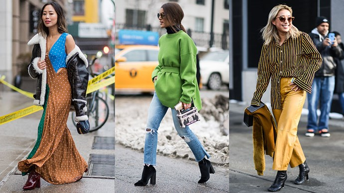 We round-up the best street style from New York fashion week; where the cold is no deterrent for the world's most stylish women.