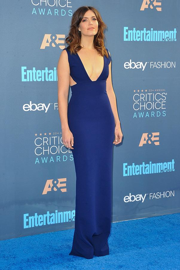 At the Critic's Choice awards.