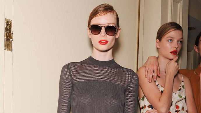 <strong>Jason Wu</strong> <br><br> This look is all about embracing your hair's natural texture, making the style unique to you.