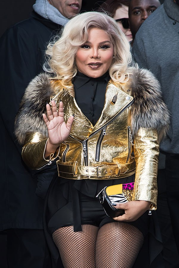 <p><strong>Marc Jacobs</strong> <br><BR> Lil' Kim