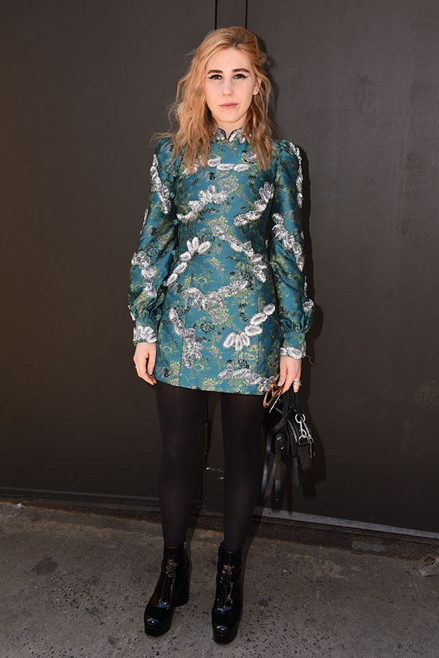 <p><strong>Marc Jacobs</strong> <br><BR> Zosia Mamet