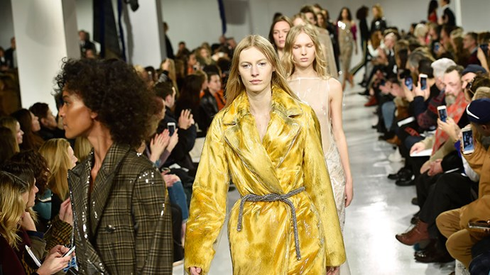 <em>ELLE</em> rounds up the 20 standout runway moments from New York fashion week.